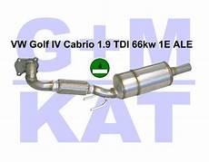 partikelfilter golf 4 partikelfilter vw golf iv cabrio 1 9 66kw nachr 252 stung