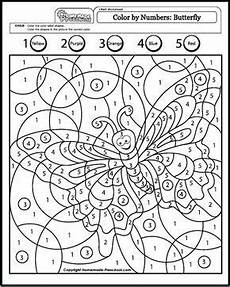 malen nach zahlen color by numbers coloring pages math