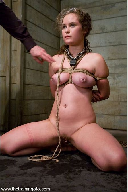Train slave Charlotte Vale with Ass Hook and Hard Doggie ...
