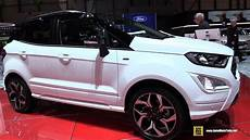 2018 ford ecosport exterior and interior walkaround
