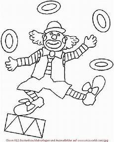 Kostenlose Malvorlagen Clown Clown 012 Kostenlose Malvorlagen Und Ausmalbilder Auf Www