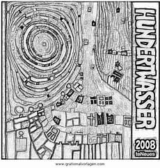 Malvorlage Hundertwasser Haus Hundertwasser 3 Gratis Malvorlage In Beliebt04 Diverse