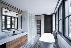salle de bain avec carreaux de ciment une salle de bain en carreaux de ciment frenchy fancy