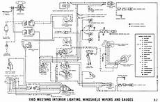 1966 mustang headlight wiring diagram 1965 mustang wiring diagrams average joe restoration