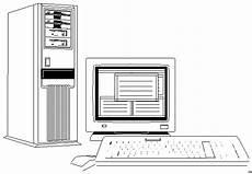 Malvorlagen Pc Computer Tastatur Bildschirm Ausmalbild Malvorlage Objekte