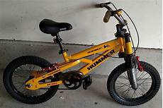 Humm3r 16 hummer h16 special edition 16 inch bike yellow front