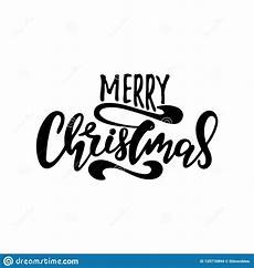 merry christmas vector text calligraphic lettering design card template stock vector