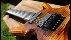 Broadaxe Guitars Custom 7 String Quot Falchion Quot Demo