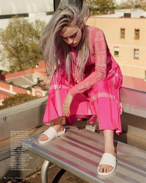Billie Eilish Feet