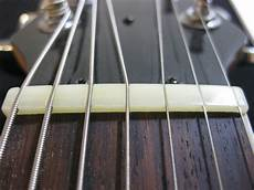 7 string guitar nut strange guitarworks