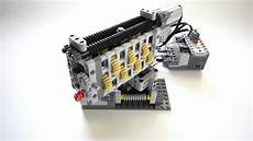 lego technic smooth linear gearbox 6 speed