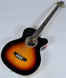 Takamine G Series Gb72ce Acoustic Electric Bass In Brown