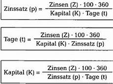 zinsrechnen richtig verstehen kaufm 228 nnisches rechnen