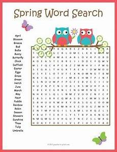 spring word search puzzle by puzzles to print teachers pay teachers