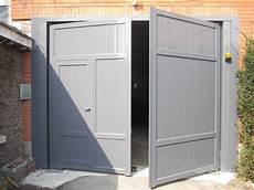 porte de garage battant aluminium porte de garage aluminium portail et cl 244 ture