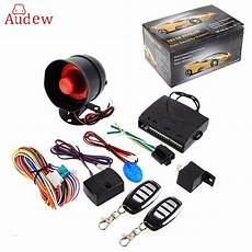 one way car alarm vehicle system protection security system keyless entry siren 2 remote