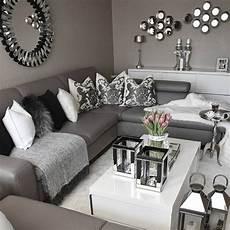 Schwarz Wei 223 Und Grau Wohnzimmer Design