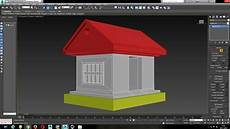 3ds Max Beginner Simple House Modeling Tutorial