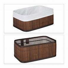 aufbewahrungskorb bad aufbewahrungskorb bad 3er set bambus stoff