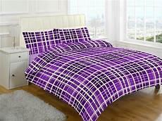 evan check brushed cotton flannelette thermal duvet cover bedding ebay