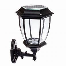 solar 12 led outdoor garden wall l sconce lantern light black walmart com