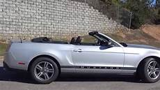 2010 ford mustang v6 convertible youtube