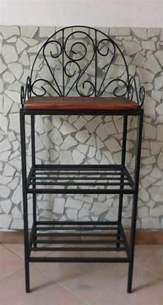 etagere ferro dettagli su scaffale libreria etagere in ferro battuto