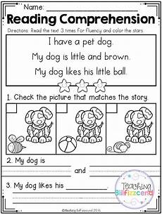 free kindergarten reading comprehension 2 reading comprehension kindergarten reading