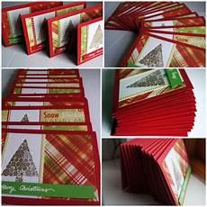 diy weihnachtskarten selber machen und kreativ gestalten