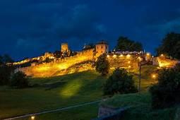 Nature Landscape Architecture Castle Hill Fortress