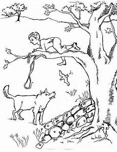 print wolf coloring pages theme