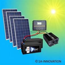 1000w Solaranlage Komplettpaket 220v 24v Kaufen Auf Ricardo Ch