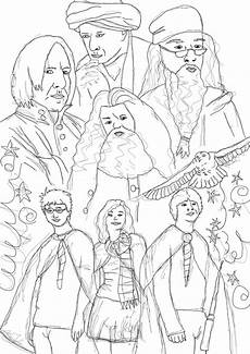 Harry Potter Malvorlagen Gratis Ausmalbilder Harry Potter Malvorlage Gratis