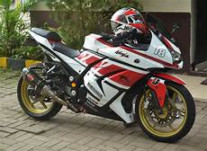 Modifikasi Kawasaki 250 by 30 Gambar Modifikasi Kawasaki 250 Fi Simpel Gagah