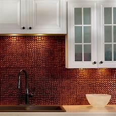 Copper Tiles For Kitchen Backsplash Fasade 24 In X 18 In Terrain Pvc Decorative Tile