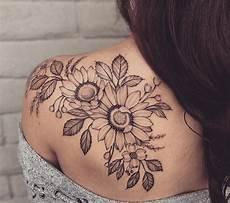 blumen sonnenblume schulter schwarz weiss