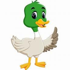 illustration of duck vector premium