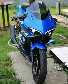 Modifikasi Gsx R150 by Modifikasi Headl Suzuki Gsx R150 Ala Ducati Panigale