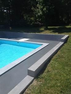 plage de piscine plage de piscine et terrasse en b 233 ton cir 233 enduit micro b 233 ton