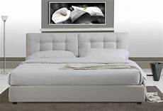 letto in pelle ecological leather bed with network modern faux