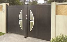 portail aluminium battant 3m50 portail aluminium design