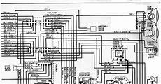 Electrical Wiring Diagram Of 1964 Chevrolet 6 And V8 All