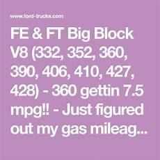 Best V8 Gas Mileage