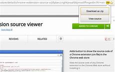 is there an easy way to unpack a chrome extension in the chrome web store stack overflow