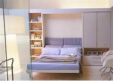 Schrankwand Mit Bett - schrankwand mit klappbett wohnideen f 252 r praktische