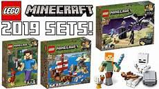 lego winter sets 2019 lego minecraft winter 2019 set pictures