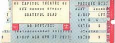 grateful dead archive 1977 grateful dead 1977 04 27 capitol theater passaic nj usa jerry garcia
