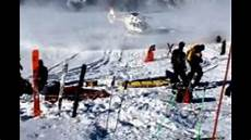 michael schumacher unfall footage of michael schumacher helicopter rescue