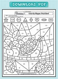 color by number shapes worksheets 16248 coloring pages home preschool worksheets preschool math worksheets color by shapes preschool