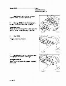 car repair manuals download 1987 mercedes benz sl class electronic toll collection 1986 1991 mercedes benz 380sl 380slc 560sl w107 r107 83 140 removal installation grille manual